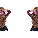 Hair bow by Elza Fouche