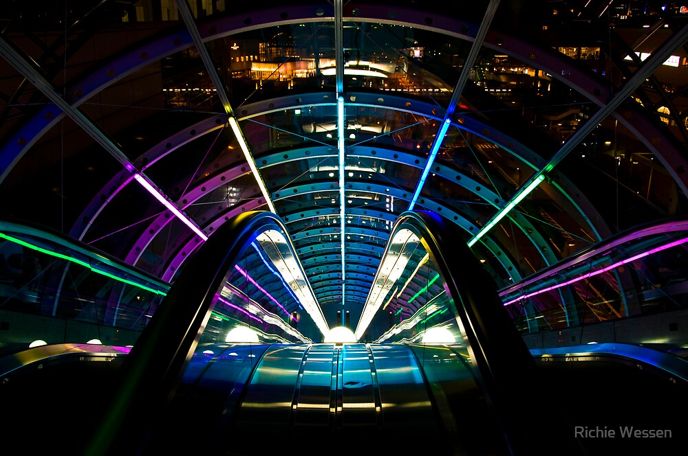Escalator of Colours by Richie Wessen