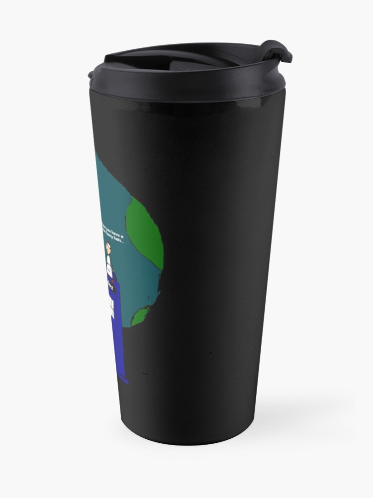 Alternate view of All of Eternity and Space Travel Mug
