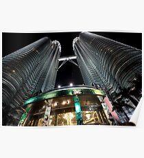 Petronas Twin Towers KLCC Poster