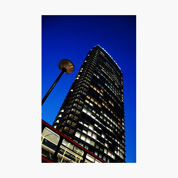 Centre Point at Night Photographic Print