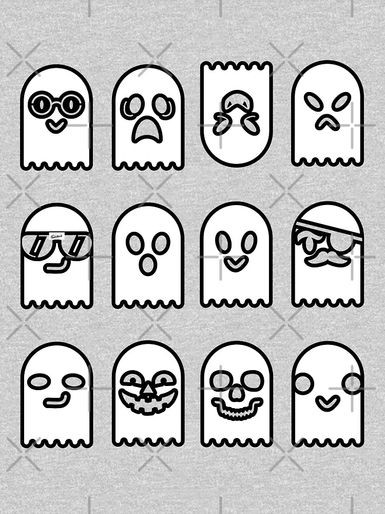 Gaggle of Ghosts by parapopulous