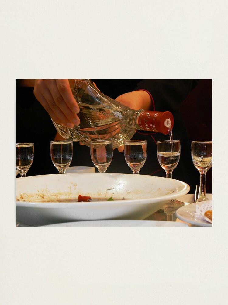 Alternate view of Baijiu ~ Chinese rice wine Photographic Print