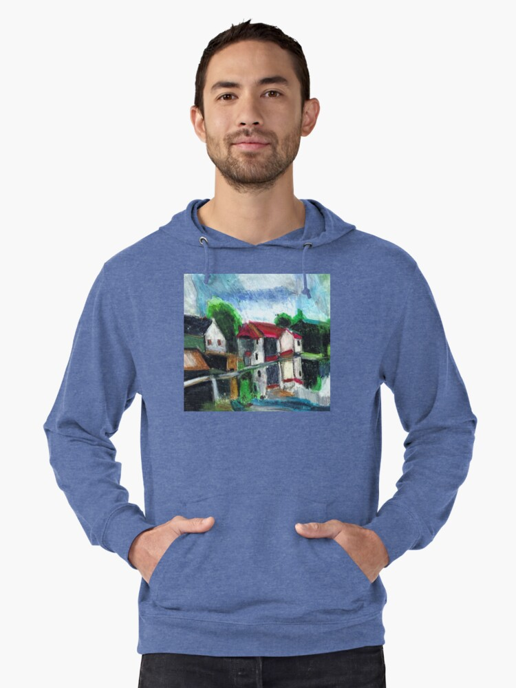 On The Riverfront Lightweight Hoodie Front