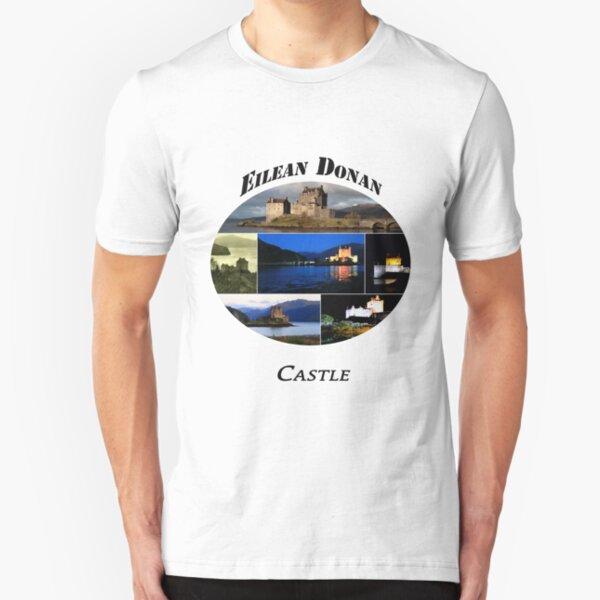 Eilean Donan Castle Slim Fit T-Shirt
