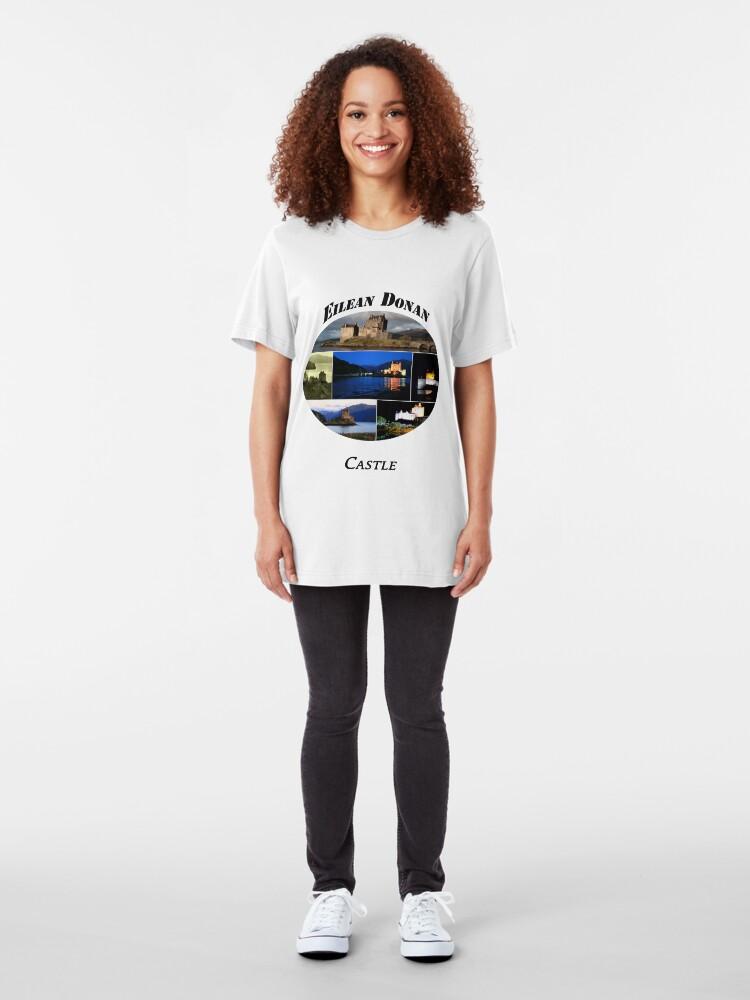 Alternate view of Eilean Donan Castle Slim Fit T-Shirt