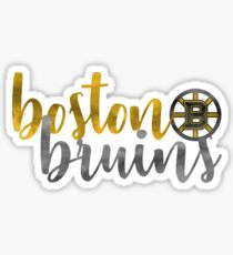 Boston Bruins watercolor  Sticker