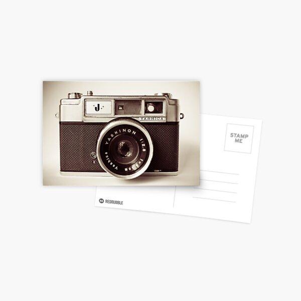 Camera Retro  Postcard
