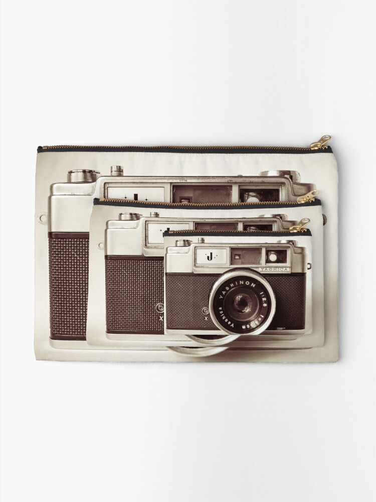 Alternate view of Camera Retro  Zipper Pouch