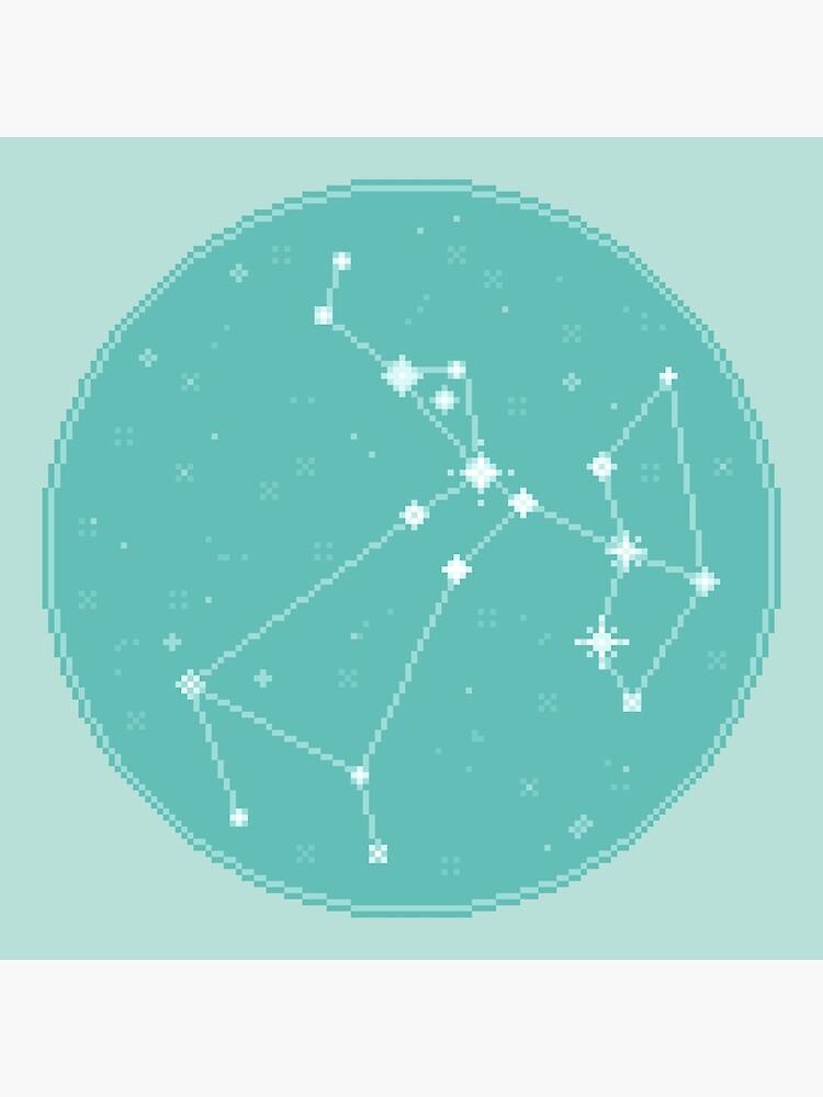 8bit Constellations:  Sagittarius by sp8cebit