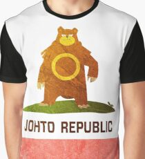 Ursaring - Johto Republic Graphic T-Shirt