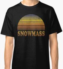 Vintage Snowmass Sunset Shirt Classic T-Shirt