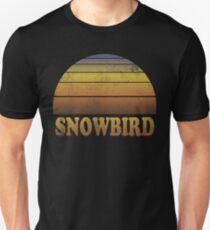 Vintage Snowbird Sunset Shirt Unisex T-Shirt
