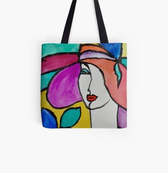 Stylish Fashion All Over Print Tote Bag