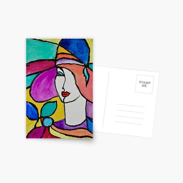 Stylish Fashion Postcard