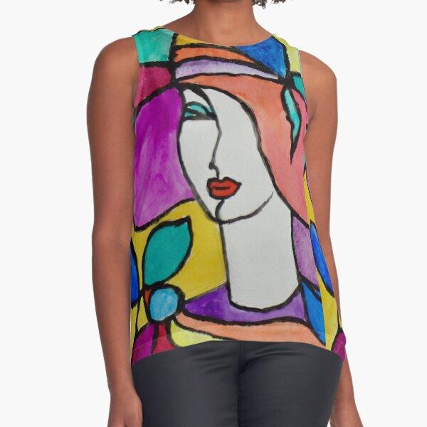 Stylish Fashion Sleeveless Top