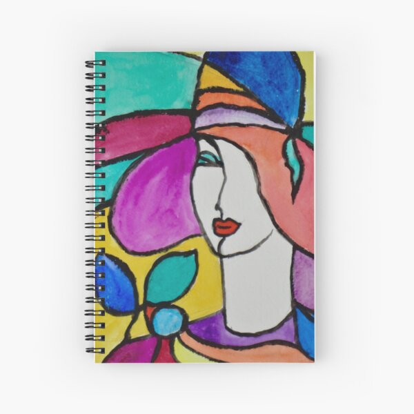 Stylish Fashion Spiral Notebook