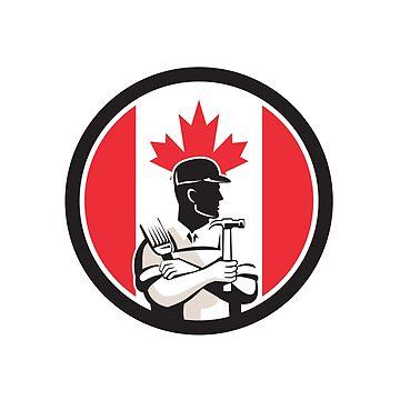 Canadian DIY Expert Canada Flag Icon by patrimonio
