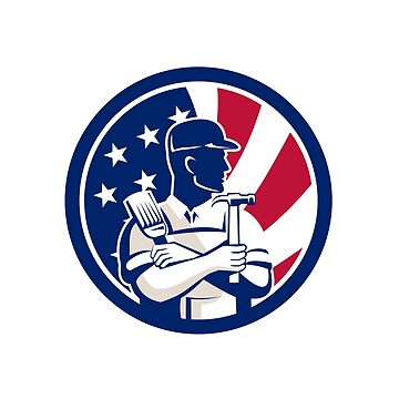 American DIY Expert USA Flag Icon by patrimonio