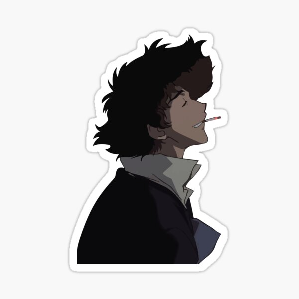 Spike Smoking Sticker