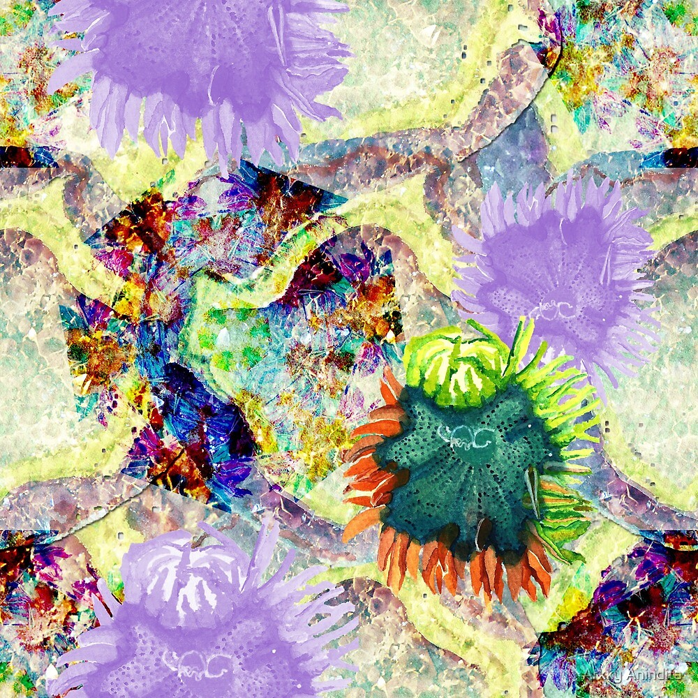 Anemone in Summer by Paperon Design