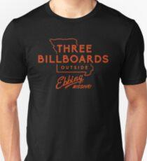 Camiseta unisex tres cartelera
