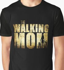 The Walking Mom Cool TV Shower Fans Design Graphic T-Shirt