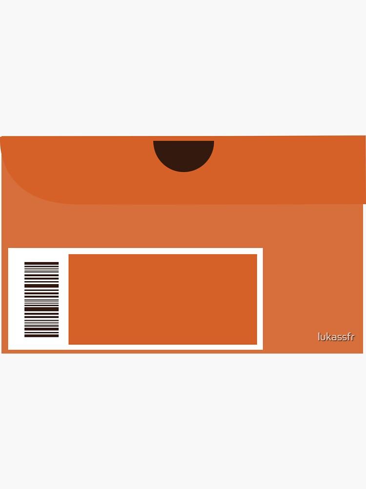 Orange Shoebox by lukassfr