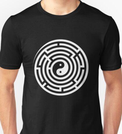 Finding Balance (White on Black/Colour) T-Shirt