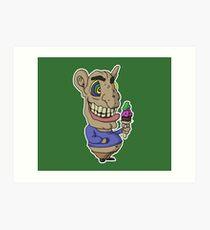 Ice-cream Goblin Art Print