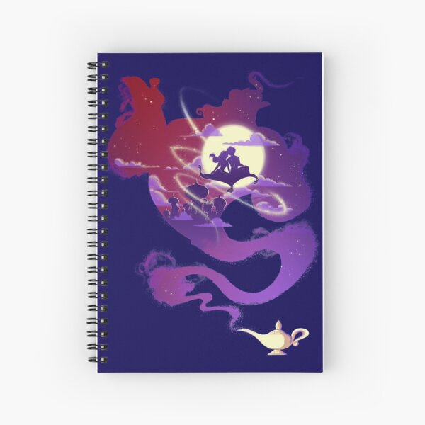 Arabian Night Spiral Notebook
