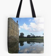 Moat Reflection with Castle Tote Bag