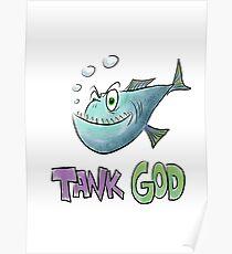 Tank God Poster