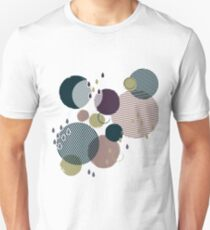 Abstract circle geometric pattern Unisex T-Shirt