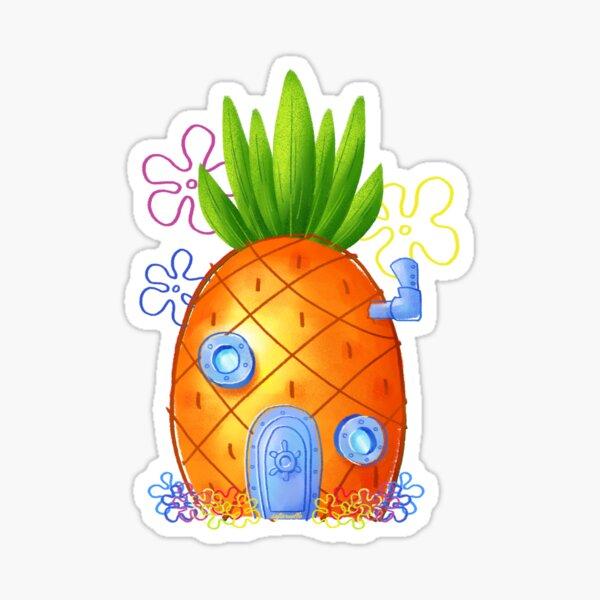 Pineapple under the sea Sticker