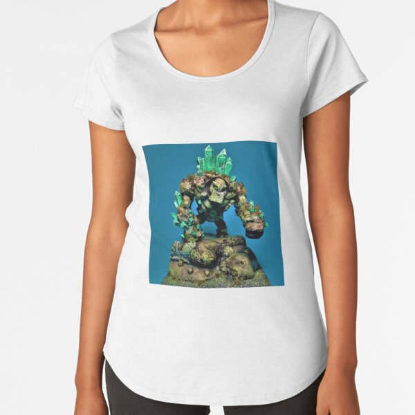 Earth Elemental Premium Scoop T-Shirt