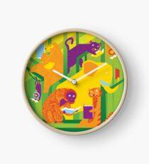 Jungle Books Clock