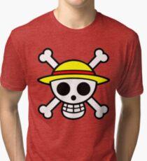 Mugiwara Logo Tri-blend T-Shirt