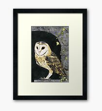 The Church Owl Framed Print