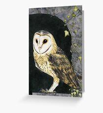 The Church Owl Greeting Card