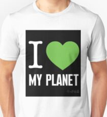 I Love My Planet Unisex T-Shirt