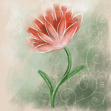 Flower design by Extreme-Fantasy
