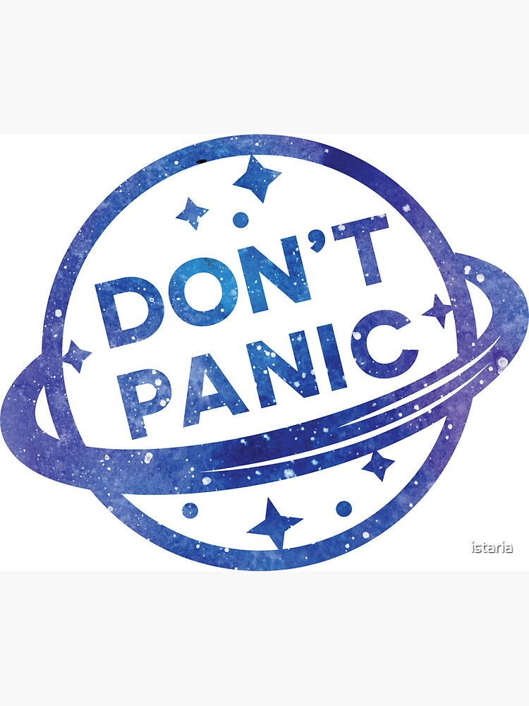 Don't Panic by istaria