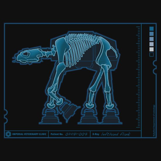 TShirtGifter presents: AT-AT Anatomy