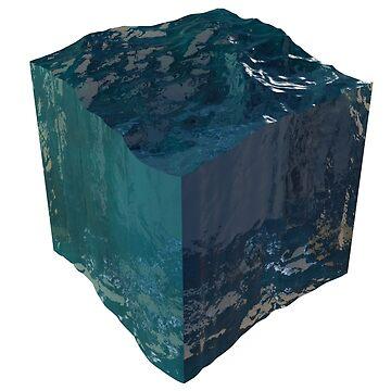 Ocean Cube Water by Altairicco