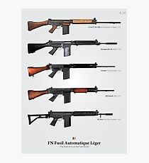 FN FAL - Right Arm of the Free World Photographic Print