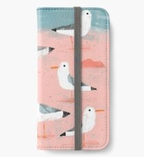 Seagulls on the Shore iPhone Wallet/Case/Skin