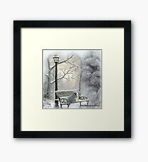 All is Calm - All is Bright Framed Print