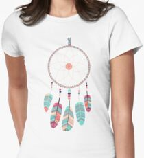 Catching a Tribal Dream Women's Fitted T-Shirt