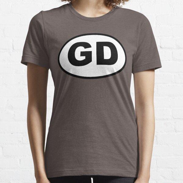 Grateful GD Oval Essential T-Shirt